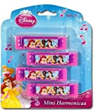 Disney Princess 4Pk Mini Harmonica