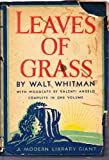 img - for Leaves of Grass, Comprising all the Poems Written by Walt Whitman Following the Arrangement of the Edition of 1891-'2 book / textbook / text book