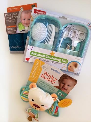Fisher Price Boy Girl Gift Bundle Fisher Price Personal Baby Grooming Kit 12 Pc Healthcare Travel Nail Clippers Toothbrush Scissors Comb Brush Binky Buddy Pacifier Plush Eddie Bauer Reversible Car Seat Stroller Strap Cover