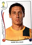 2014 Panini World Cup Soccer Sticker # 170 Mark Milligan Team Australia