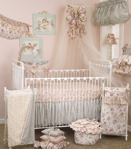 Cotton Tale Designs Tea Party Bedding Set, 7 Piece