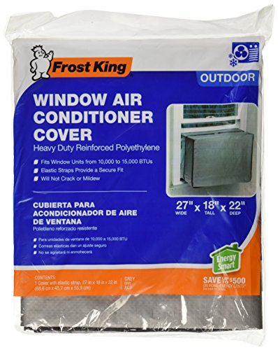 Frost king ac3h outside window air conditioner cover 18 x for 10 inch tall window air conditioner