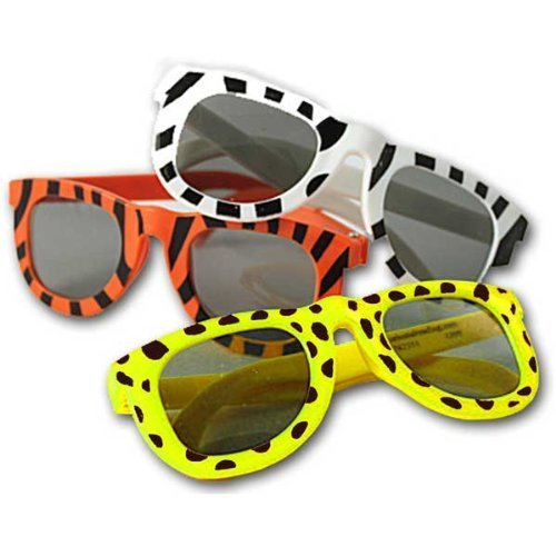 Buy Bargain 2 X Animal Print Sunglasses Assortment (1 dz) (colors may vary)