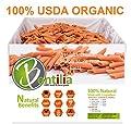 Organic Bentilia Red Lentil Penne 5lbs Bulk Case - 1 Single Ingredient 100% Natural Non-GMO, Gluten Free Pasta from Bentilia Lentil and Bean Pasta