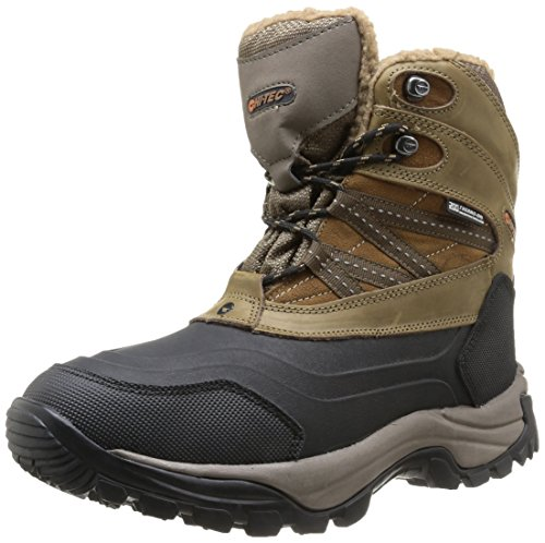 Hi-Tec Snow Peak 200 Wp - Stivali Uomo, Brown (Tan/Black), taglia 40