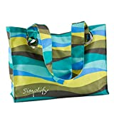 C.R. Gibson Iota 15-1/2 by 11-1/2-Inch Tote, Simplify