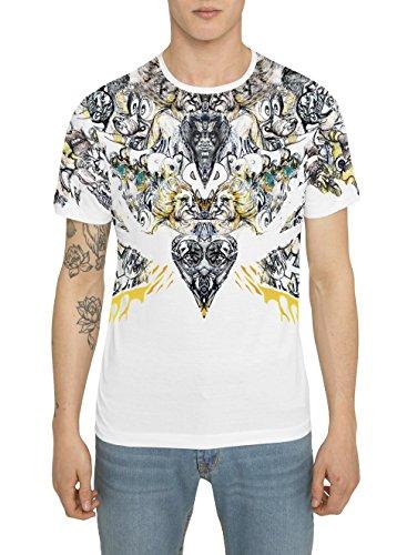 Camisetas-de-Moda-Designer-Retro-Fashion-Rock-para-Hombre-Camiseta-Blanca-con-Estampada-THE-ROCKER-Cuello-redondo-Manga-corta-Algodn-Alta-calidad-Ropa-Urbana-Cool-para-Hombres-S-M-L-XL-XXL