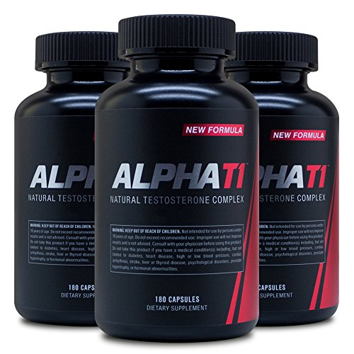 Alpha T1 3pack - Testosterone Booster - Testosterone Booster Supplement - The Best Metabolism Booster