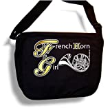 French Horn Girl - Sheet Music & Accessory Bag Carry Case - MusicaliTee