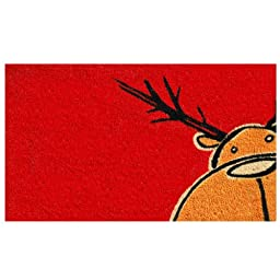 Home & More 120971729 Christmas Moose Doormat, 17\