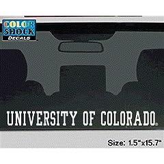 Buy Colorado Buffaloes Decal Strip - University Of Colorado Buffaloes by SportShack INC