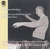 ブラームス : ハイドンの主題による変奏曲 | 交響曲 第1番 (Johannes Brahms : Variation on a theme by Haydn | Symphony No.1 / Wilhelm Furtwangler | North West German Radio Symphony Orchestra) [Live Recording]