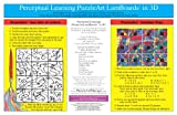 Perceptual Learning PuzzleArt LamBoards in 3D
