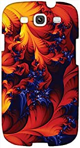 Timpax protective Armor Hard Bumper Back Case Cover. Multicolor printed on 3 Dimensional case with latest & finest graphic design art. Compatible with only Samsung I9300 Galaxy S III. Design No :TDZ-21211