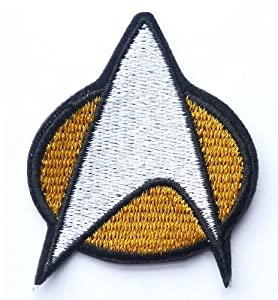 Star Trek Iron on Sew on Embroidered Patch From PatchWOW