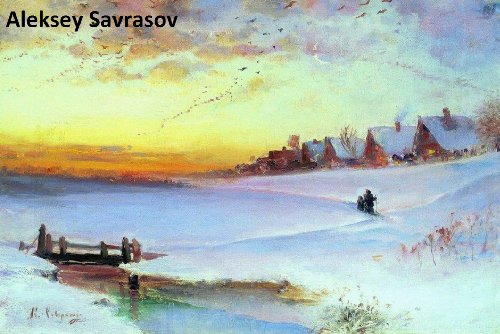235 Color Paintings of Aleksey Savrasov - Russian Landscape Painter (May 24, 1830 - October 8, 1897)