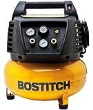 BOSTITCH BTFP02011 6-Gallon Oil-Free Pancake Compressor
