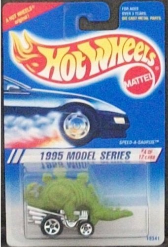 Hot Wheels 1995-4 of 12 NEW Model Series Speed-a-saurus 1:64 Scale