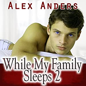 While My Family Sleeps 2 (M-M-F Menage Erotica) Audiobook
