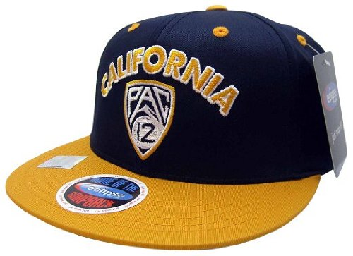 NCAA California Golden Bears Conference Pride Style Snapback Hat, Navy/Gold at Amazon.com