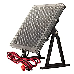 12-Volt Solar Panel Charger for 12V 7Ah Leadman UPS300 Battery from UPG