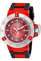 Invicta Men's 10106 Subaqua Noma III Red Dial Watch