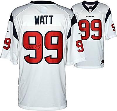 J.J. Watt Houston Texans Autographed Nike Limited White Jersey - Fanatics Authentic Certified - Autographed NFL Jerseys