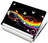 "10 10.2 inch Laptop Skin Sticker / Netbook Skins Cover Art Notebook Decal Fits 8"" 8.9"" 10"" 10.2"" HP Dell Lenovo Asus Compaq Asus Acer Computers (Free 2 Wrist Pad)"