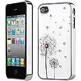 Strass Hard Case Schutzhülle Schutz Hülle Case Cover Danelion für iphone 4 4s