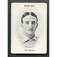 1906 WG3 Fan Craze Bobby Wallace Browns EX+ 271066 Kit Young Cards
