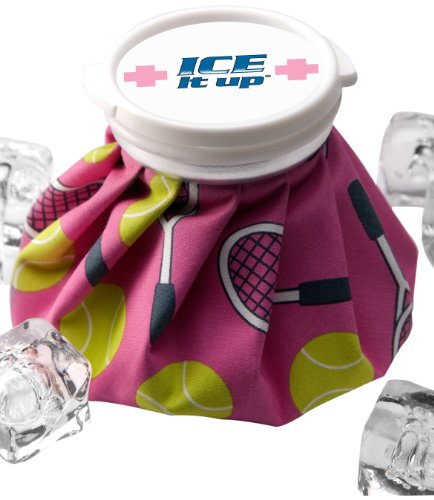 Ice Aid Vintage Style Ice Bag, Tennis Match Point