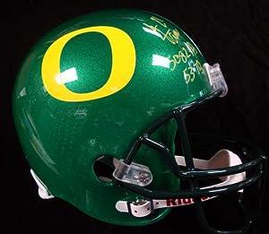 LaMichael James Autographed Oregon Ducks Full Size Replica Helmet 5082 Yds, 53 TD