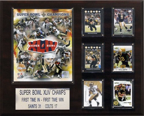 NFL New Orleans Saints Super Bowl XLIV 16-Inch Champions Plaque at Amazon.com