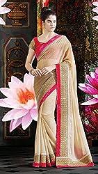 Bhagyashree Creation Safe Designer With Blouse Pic Saree
