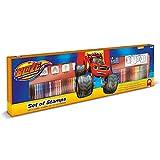 Blaze Box 60 Rotuladores, 30 Stickers, 20 Hojas Colorear y 4 Sellos.