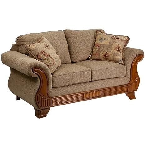 Flash Furniture 5700 Traveler Havana Loveseat