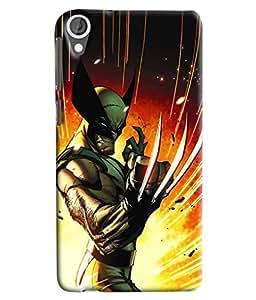 Clarks Printed Designer Back Cover For HTC Desire 820