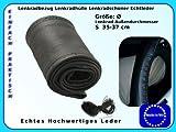 Lenkradschoner Lenkradbezug Lenkradhülle echt Leder Größe Ø 35-37 cm