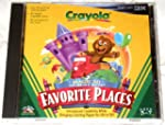 Magic 3D Coloring Book Favorite Places