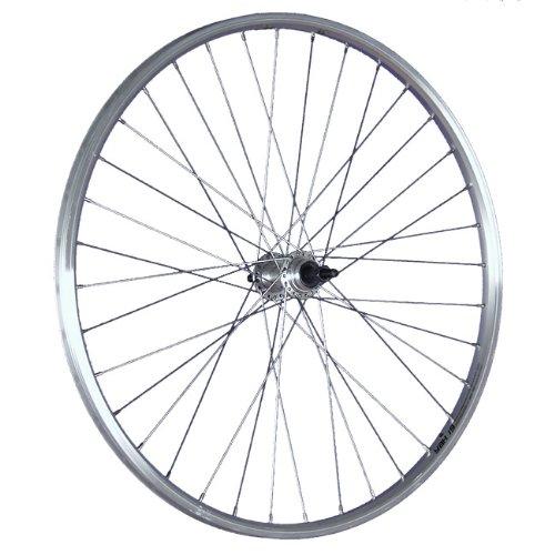 Taylor Wheels 26 Zoll Hinterrad Schürmann Hohklammerfelge Schraubkranznabe silber