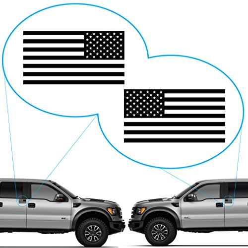 American Flag United States Decal Sticker for Car Window, Laptop, Motorcycle, Walls, Mirror and More. # 816 (4