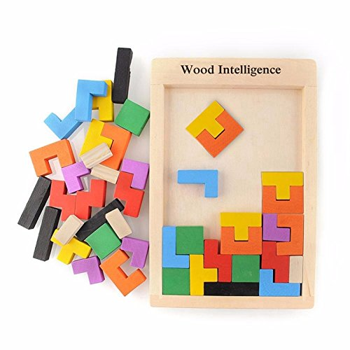 Colorful Wooden Tangram Brain Teaser Puzzle Toys Tetris Game Preschool Magination Intellectual Educational Kid Toy Children Gift (Space Hulk Card Game compare prices)