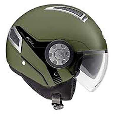 CASQUE 11.1 AIR JET MILITARY GREEN GIVI 2014 SIZE XL