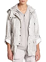 Joie Barker A Hooded Jacket in Soft Cement