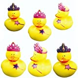 Party Bag Favour Lucky Dip Play Rubber Ducks Princess Pack Of 48 12+ Months