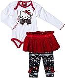 Hello Kitty Baby-Girls Infant Legging Set 2  Piece Tutu Full Length, Bright White, 24 Months