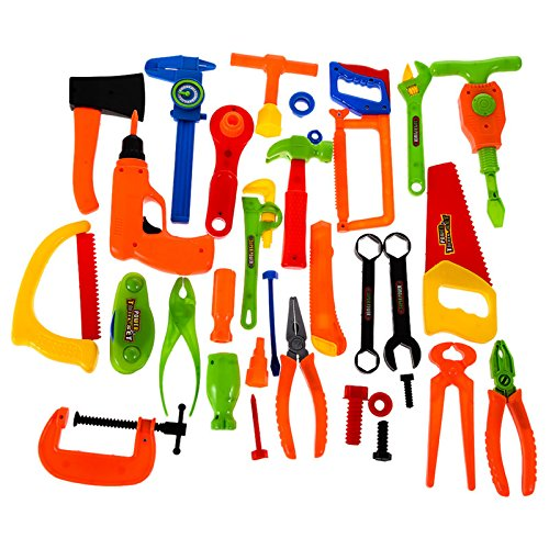 [34PCS Repair Tools Toys Plastic Fancy Dress Instruments Toy Kit Tools for Children] (Kung Fu Panda Costume Australia)