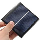 CAMTOA 5.5V 1W Mini Solar Panel Solarmodul Polykristalline Silizium Solarzellen