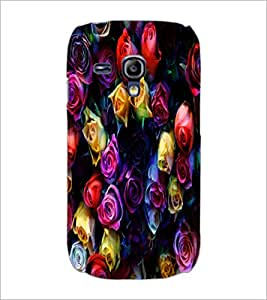 PrintDhaba Roses D-4377 Back Case Cover for SAMSUNG GALAXY S3 MINI (Multi-Coloured)