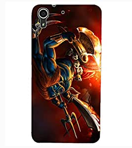 ColourCraft Lord Shiva Design Back Case Cover for HTC DESIRE 626S